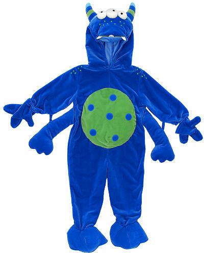 Monster Halloween Costume (12 Months)