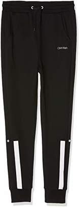 Calvin Klein Boy's Pant Boxer Shorts, (Grey Heather 020), 152 (Size: 10-12)