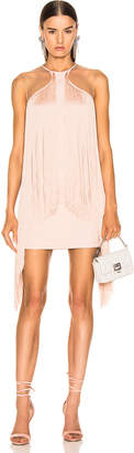 Stella McCartney Fringe Dress in Rose | FWRD