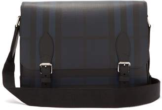 Burberry check PVC messenger bag