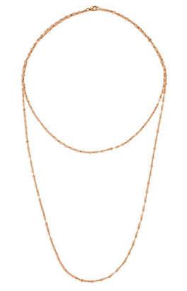 Lana 14k Double Blake Layered Chain Necklace