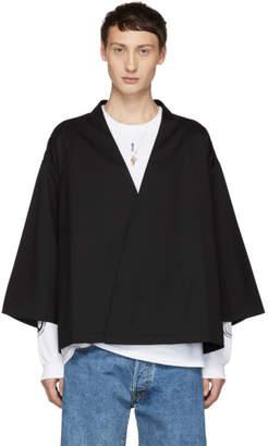 SASQUATCHfabrix. Black Kimono Cardigan