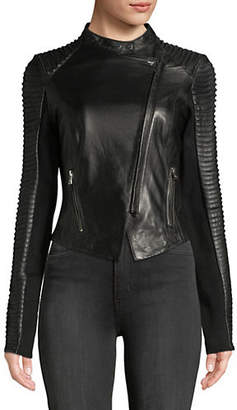 Paige LAMARQUE Leather Moto Jacket