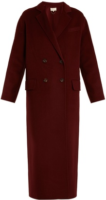 VANESSA BRUNO Frisbane double-breasted wool-blend coat