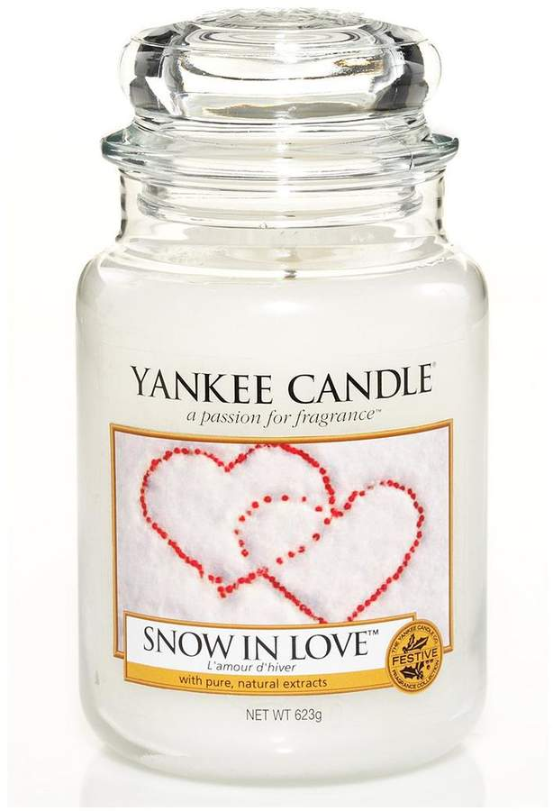 Snow In Love Classic Large Jar Candle