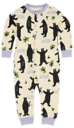 Hatley Little Blue House by Baby Girls 0-24m Infant Hucklebeary Romper,6-12 Months