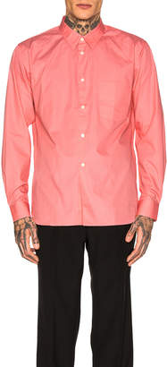 Comme des Garcons Long Sleeve Shirt in Pink | FWRD