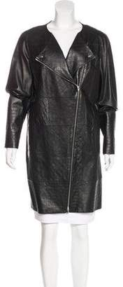 Chanel Quilted Lambskin Coat