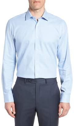 Tailorbyrd Jaiden Trim Fit Houndstooth Dress Shirt