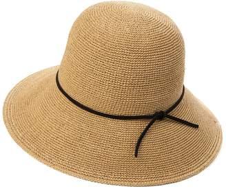 Siggi Womens Floppy Summer Sun Beach Straw Fedoras Hats Accessories Wide Brim White