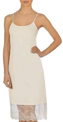 Natori Infinity Lace Trim Slip Dress