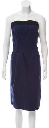 Marc Jacobs Strapless Paneled Dress