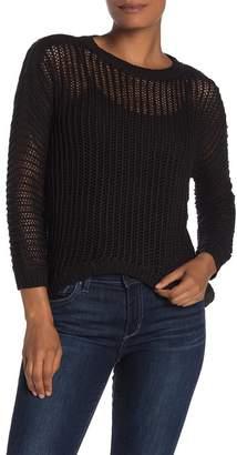 Cotton Emporium Open Knit Pullover Sweater