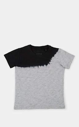 ATM Anthony Thomas Melillo Kids' Dip-Dyed Cotton T-Shirt - Gray
