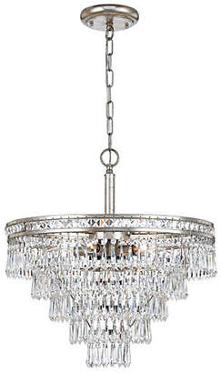 Crystorama 6-Light Crystal Convertible - Olde Silver