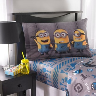 Universal Despicable Me Minions 'Follow Mel' Bedding Sheet Set