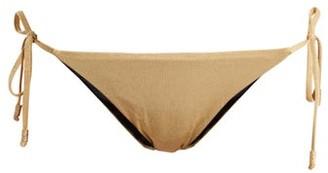 Biondi - Tie Side Bikini Briefs - Womens - Camel