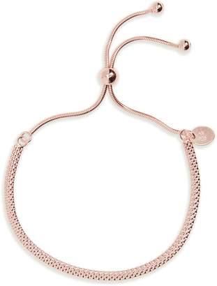 Argentovivo Mesh Slider Bracelet