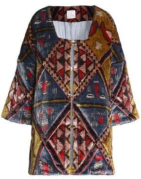 Stella Jean Printed Chenille Jacket