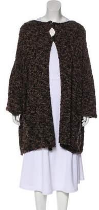 eskandar Wool Knit Cardigan