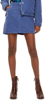 Topshop Corduroy Skirt