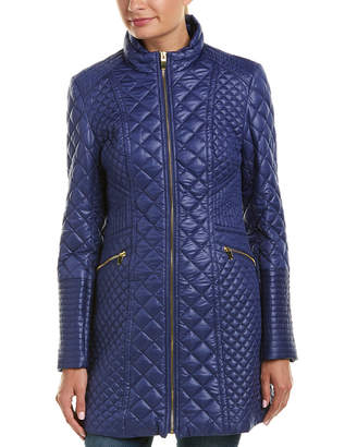 Via Spiga Oyster Quilted Jacket