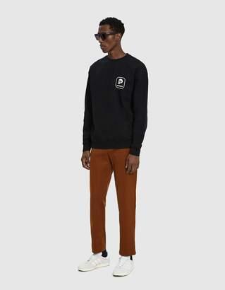 Insight Death Badge Crewneck Sweatshirt