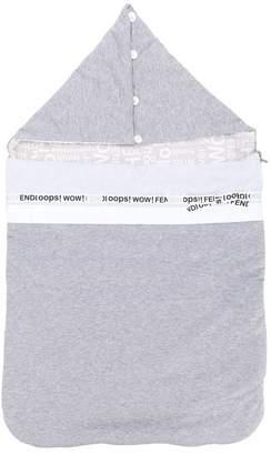Fendi slogan print sleeping bag