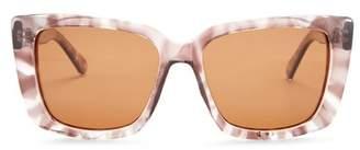 Joe's Jeans Polarized 54mm Squared Sunglasses
