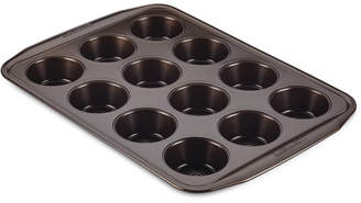 Circulon Symmetry Nonstick Chocolate Brown 12-Cup Muffin Pan
