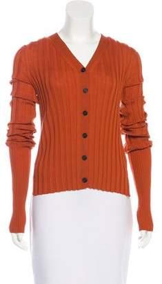 Celine Lightweight Wool Cardigan w/ Tags