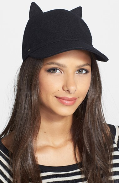 Kate Spade New York Cat Baseball Hat