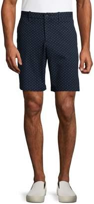 Perry Ellis Dot-Print Stretch Shorts