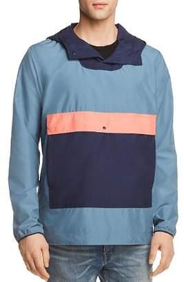 Herschel Color-Blocked Hooded Anorak Jacket