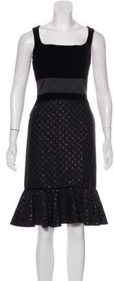 Peter Som Velvet Midi Dress