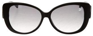 Swarovski Cabaret Embellished Sunglasses $145 thestylecure.com