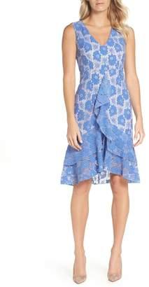 Chelsea28 Ruffle Lace Sheath Dress
