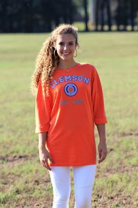 Couture Gameday Clemson University Tee Shirt Dress