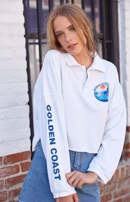 John Galt Gold Coast Long Sleeve Polo T-Shirt