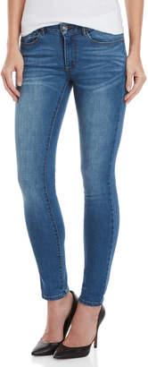 Bebe Heartbreak Ankle Skinny Jeans
