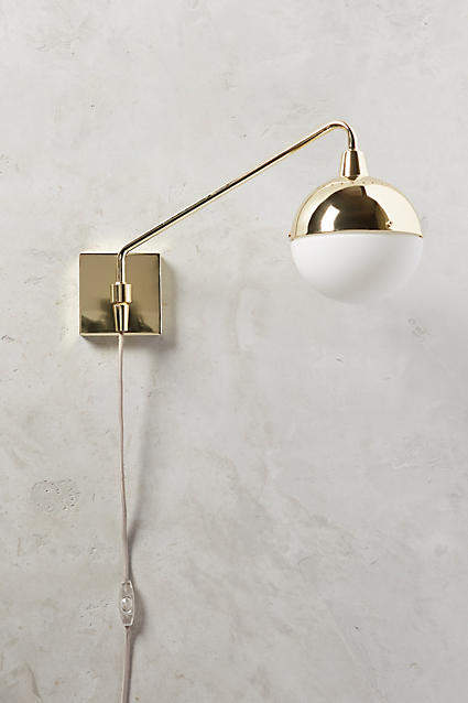 Anthropologie Anthropologie Anchored Orb One-Arm Sconce