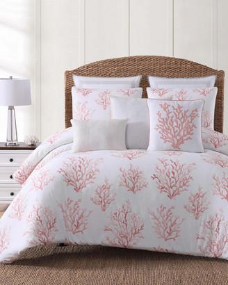 Oceanfront Resort Cove Coral Comforter Set