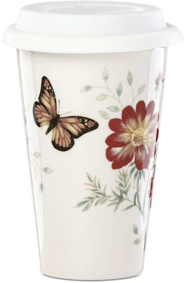 Lenox Butterfly Meadow Holiday Thermal Travel Mug