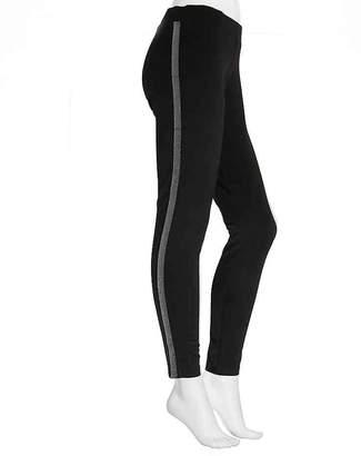 HUE Hosiery Tuxedo Ponte Leggings - Women's