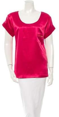 Diane von Furstenberg Pink Shirt