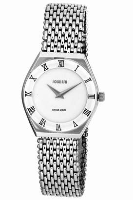 Jowissa Men's J4.081.L Costa Stainless Steel Mesh Bracelet Roman Numeral Watch