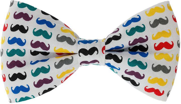 Moustache Bow Tie