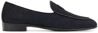 Giuseppe Zanotti G-Flash velvet loafers