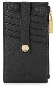 Hammitt Snap Leather Credit Card Case