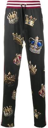 Crown Printed Trouser